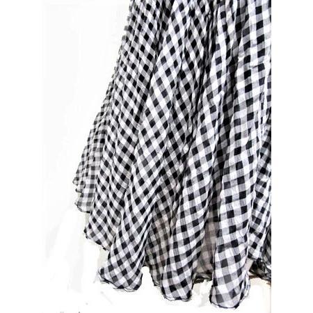 C'EST MOIJEU セモアージュ / チェックランダムプリーツスカート |t-blueberry|06