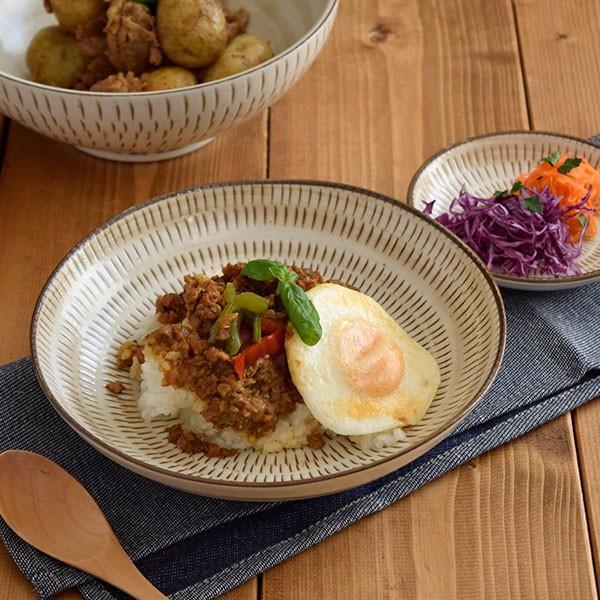 カレー皿 EAST たまご型カリーボウル (粉引) 和食器/カレー皿