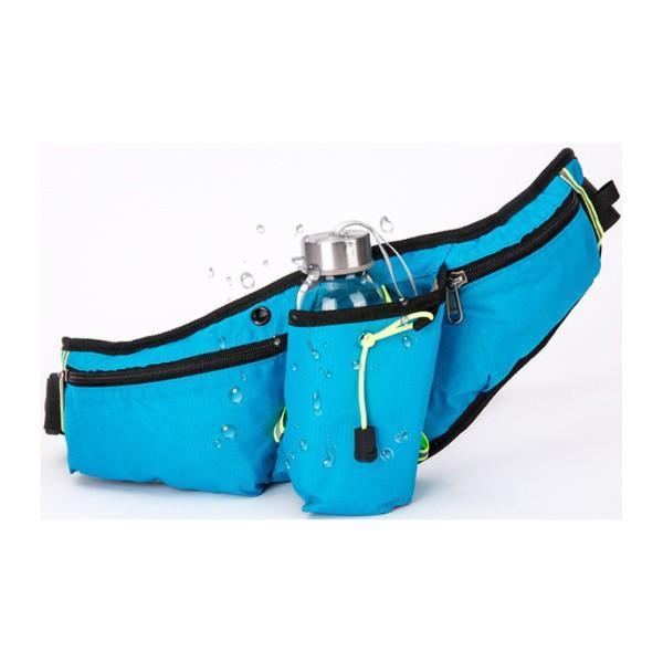 ランニングポーチ 揺れない 大容量 ペットボトル 2way スマホ ボトル 携帯 収納 ウエストポーチ ウエストバッグ ウォーキング アウトドア ジョギング ランニング|t-martshop|12