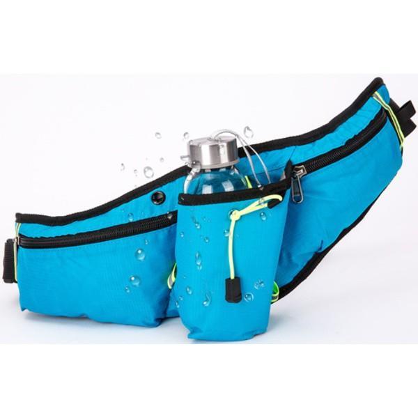 ランニングポーチ 揺れない 大容量 ペットボトル 2way スマホ ボトル 携帯 収納 ウエストポーチ ウエストバッグ ウォーキング アウトドア ジョギング ランニング|t-martshop|05