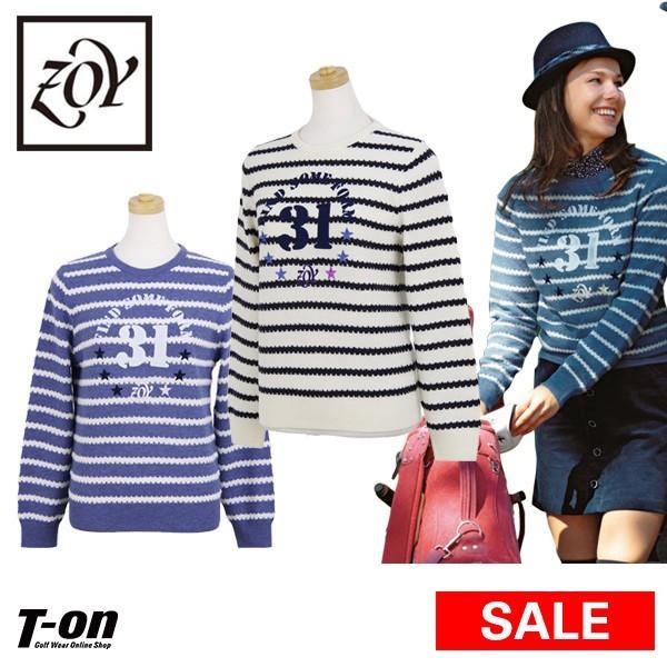 【50%OFFセール】セーター レディース ゾーイ ZOY ゴルフウェア