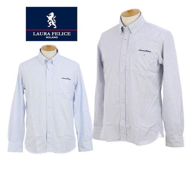 【50%OFFセール】カジュアルシャツ メンズ ラウラフェリーチェ Laura Felice ゴルフウェア