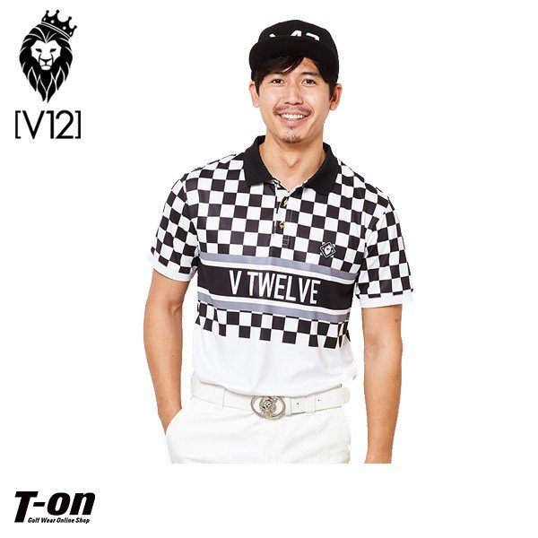 ポロシャツ メンズ V12 ゴルフ ヴィ・トゥエルブ 2019 春夏 ゴルフウェア