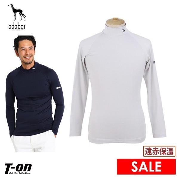 長袖ハイネックシャツ メンズ アダバット adabat 2019 秋冬 新作 ゴルフウェア