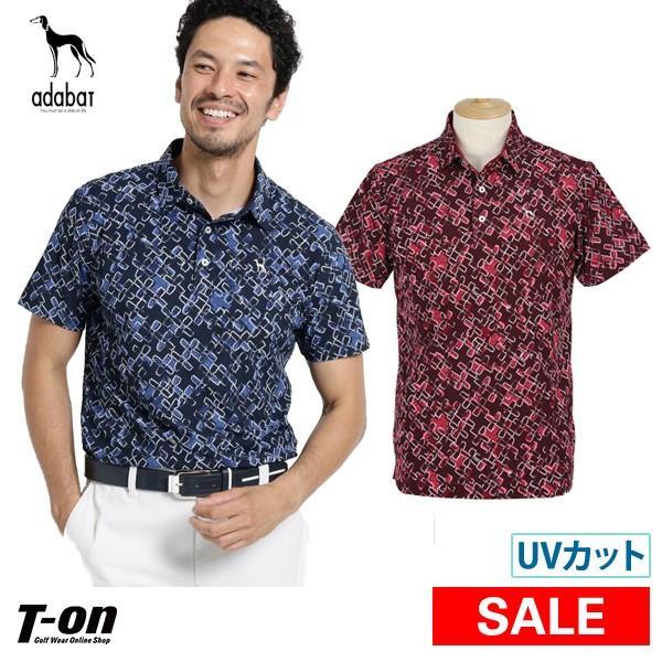 半袖ポロシャツ メンズ アダバット adabat 2019 秋冬 新作 ゴルフウェア