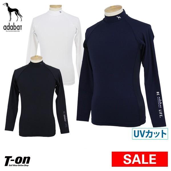 【30%OFFセール】ハイネックシャツ メンズ アダバット adabat ゴルフウェア