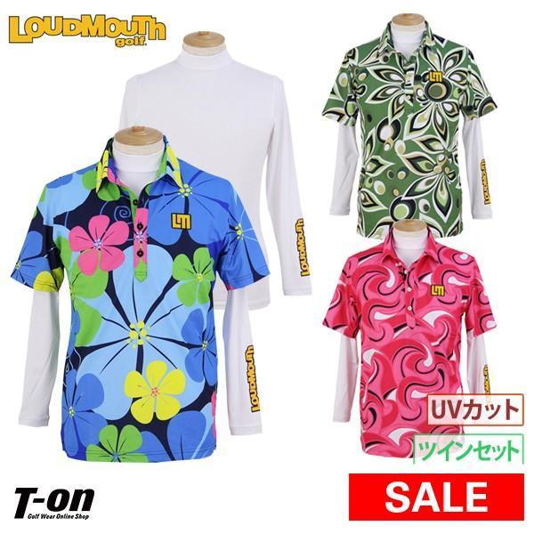 ポロシャツ&ハイネックシャツ メンズ ラウドマウス ゴルフ LOUDMOUTH GOLF 日本正規品 日本規格 2019 秋冬 新作 ゴルフウェア