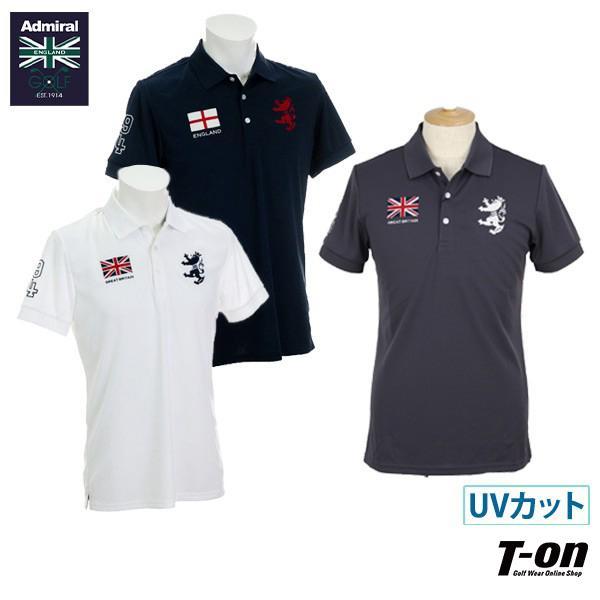 半袖ポロシャツ メンズ アドミラルゴルフ Admiral Golf 日本正規品 2019 春夏 ゴルフウェア