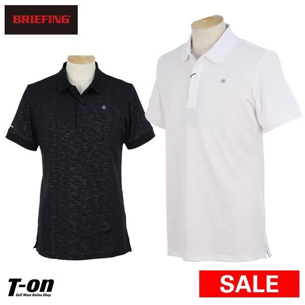 【30%OFFセール】半袖ポロシャツ メンズ ブリーフィング ゴルフ BRIEFING 2019 春夏 ゴルフウェア
