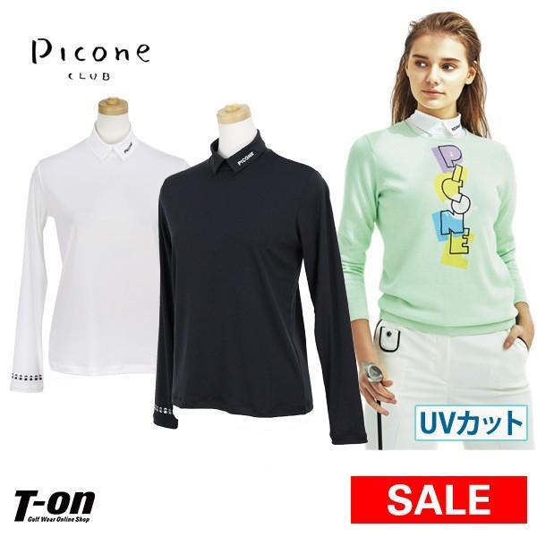 【30%OFFセール】ハイネックシャツ レディース ピッコーネクラブ PICONE CLUB 2019 春夏 ゴルフウェア