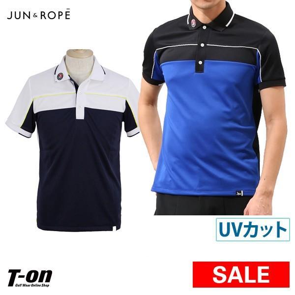 【30%OFFセール】ポロシャツ メンズ ジュン&ロペ JUN&ROPE ゴルフウェア