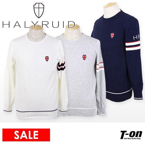 【30%OFFセール】ハリールイド HALYRUID コットンニットセーター ゴルフウェア