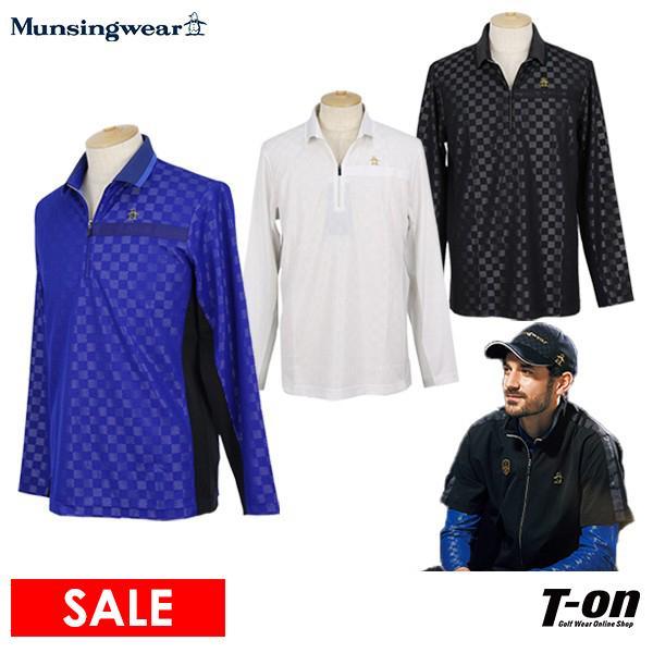 ポロシャツ メンズ マンシングウェア Munsingwear 2019 秋冬 新作 ゴルフウェア
