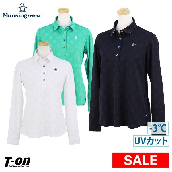 【30%OFFセール】ポロシャツ レディース マンシングウェア Munsingwear 2019 春夏 ゴルフウェア