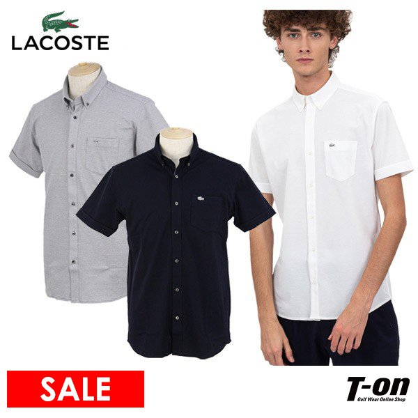ボタンダウンシャツ メンズ ラコステ LACOSTE 日本正規品 ゴルフウェア