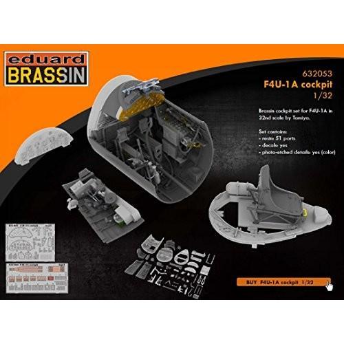 EDU632053 1:32 Eduard Brassin F4U-1A Corsair コックピット セット (for use w[海外取寄せ品]