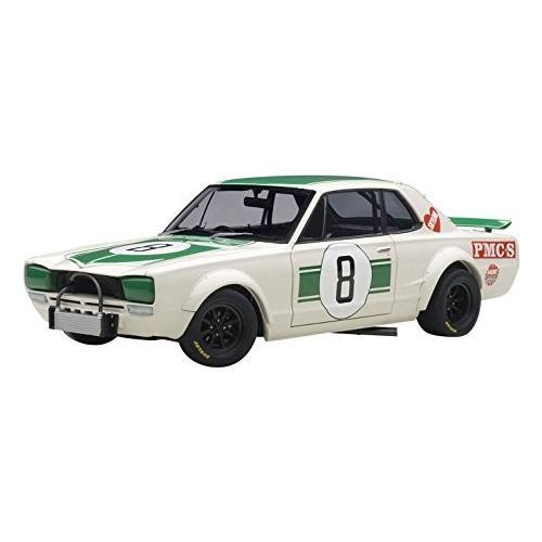 AUTOart 1 / 18 Nissan スカイライン gt-r (KPGC10) レーシング car 1971 # 8 (Jap[海外取寄せ品]
