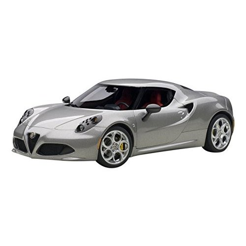 AUTOart 1/18 Composite Model Alfa Romeo 4C (Metallic Gray)[海外取寄せ品]