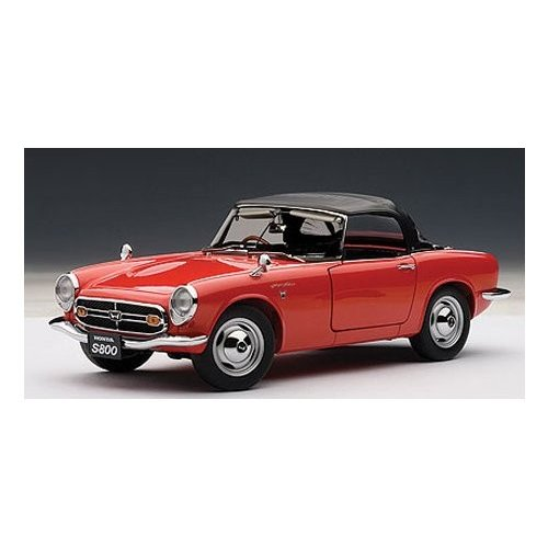 AUTOart 1/18 Honda S800 (赤)[海外取寄せ品]