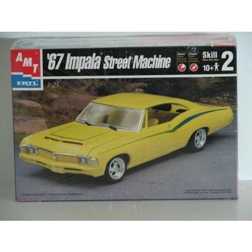 AMT '67 Impala ストリート マシーン 1/25 Scale Plastic Model キット[海外取寄せ品]