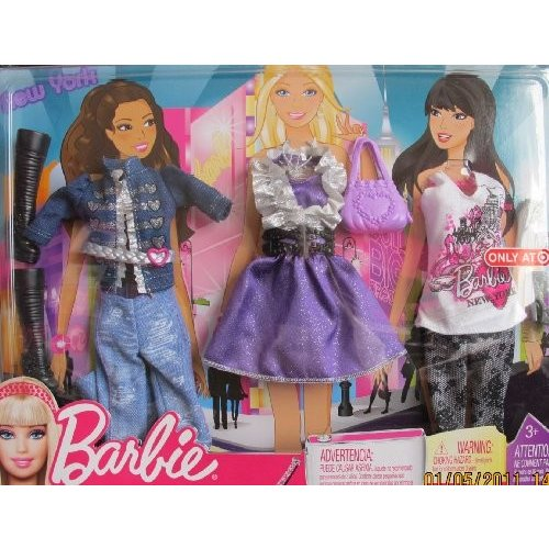 バービー Barbie ファッション NEW ヨーク Vacation - ターゲット Exclusive (2010)[海外取寄せ品]