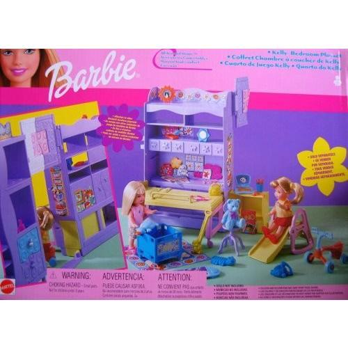バービー Barbie オール アラウンド ホーム KELLY Bedroom プレイセット (2001)[海外取寄せ品]