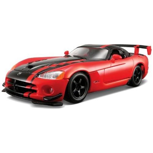 Bburago スター 1/24 Dodge Viper SRT 10 ACR: メタリック レッド/ブラック[海外取寄せ品]