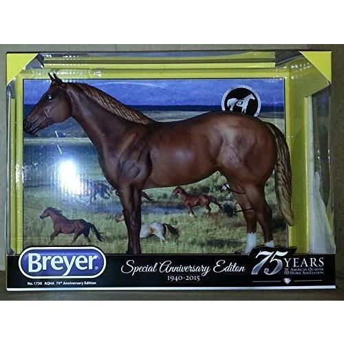 Breyer 1730 AQHA Special アニバーサリー Edition SORREL ホース 75 イヤーズ[海外取寄せ品]