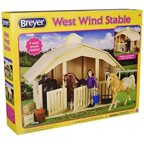 Breyer ウェスト ウインド Stable Toy[海外取寄せ品]