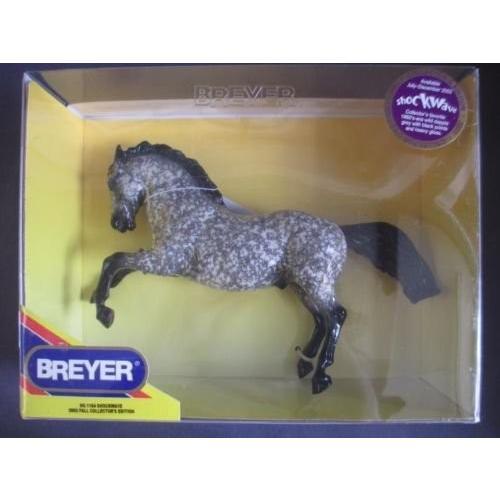 Breyer Shockwave Fighting Stallion 1164 - 2002 フォール コレクターズ edition[海外取寄せ品]