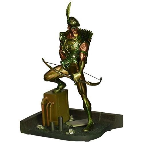 DC Collectibles グリーン Arrow ミニ Patina Statue[海外取寄せ品]