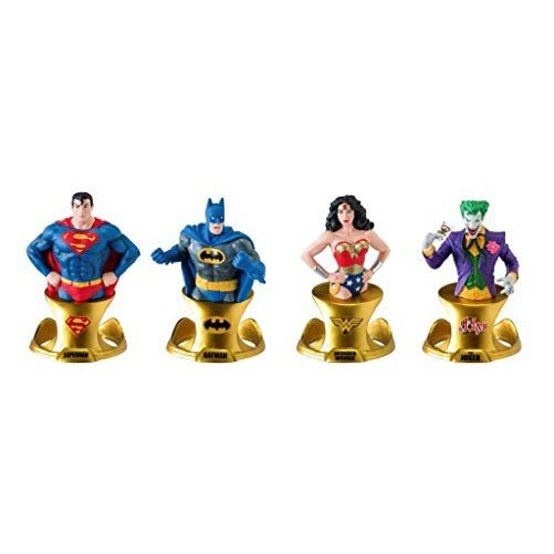 DC レジン Paperweight セット (4-Piece)[海外取寄せ品]