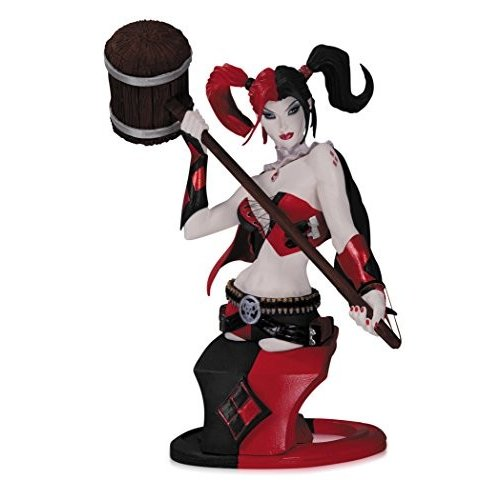 DC Collectibles DC コミック Super-Villains: Harley Quinn Bust (Second [海外取寄せ品]