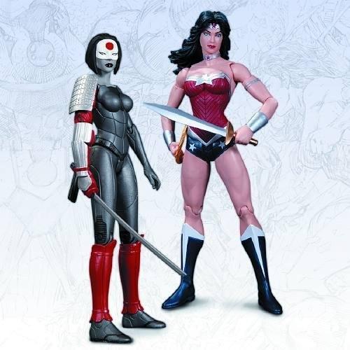 DC コミック The New 52 ワンダーウーマン Wonder Woman Vs Katana アクション Figure 2 [海外取寄せ品]