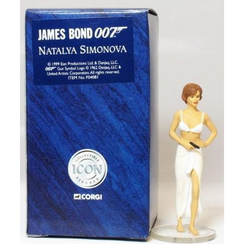 James Bond 007 - Natalya Simonova Figure by Corgi[海外取寄せ品]