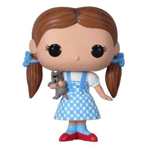 ファンコ ポップ ムービー オズの魔法使い Wizard of Oz Dorothy and Toto ビニール Figure[海外取寄せ品]