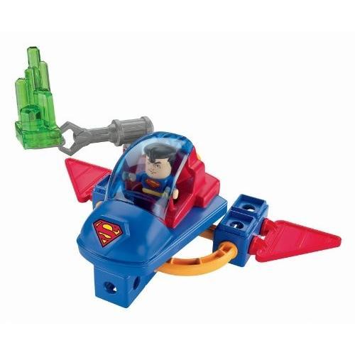 Fisher-Price TRIO DC Super フレンド スーパーマン Superman and Space Sled[海外取寄せ品]