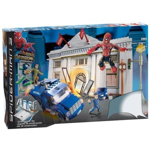 スパイダーマン Spider-Man 3: Sandman Bank Heist by Mega ブランド Brand[海外取寄せ品]