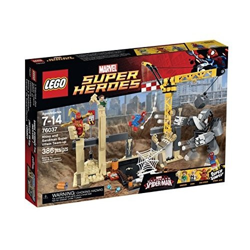 レゴ Super ヒーローズ 76037 サイ and Sandman Super Villain チーム-Up Building [海外取寄せ品]