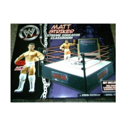 WWE マット Striker Extreme Educator Classroom リング + Figure[海外取寄せ品]