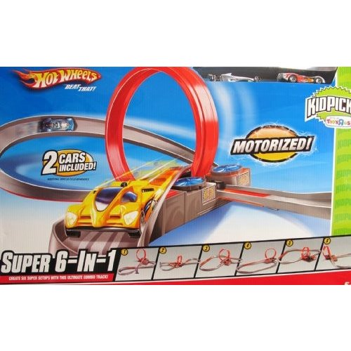 ホット Wheels KidPicks Super 6-in-1 トラック セット[海外取寄せ品]