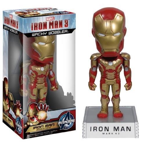 ファンコ マーベル アイアンマン Iron Man ムービー 3 Wacky Wobbler[海外取寄せ品]