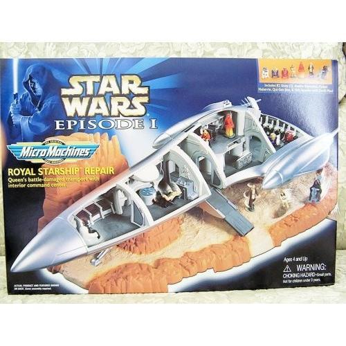 スターウォーズ Star wars Episode I MicroMachines プレイセット - ロイヤル Starship R[海外取寄せ品]