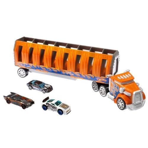 ホット Wheels Power ドロップ Transporter[海外取寄せ品]