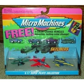 Super パイロット カラー チェンジ #11 Micro マシーン Skyliners コレクション[海外取寄せ品]