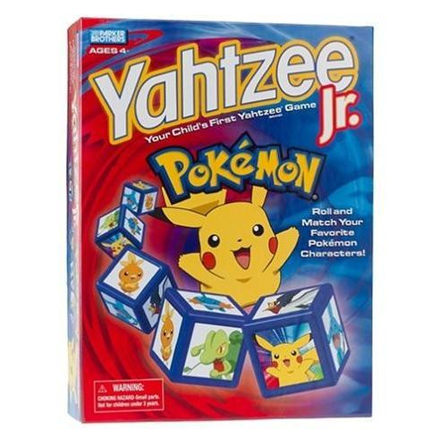 ポケモン Pokemon Yahtzee Jr. ゲーム[海外取寄せ品]