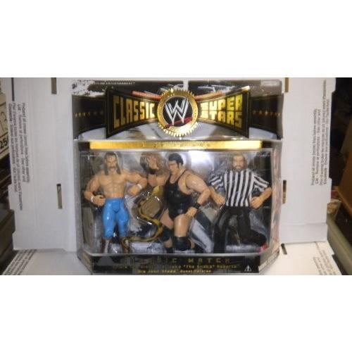 WWE クラシック Super スター クラシック パック 3 パック - Andre the Giant, ジェイク the スネ[海外取寄せ品]