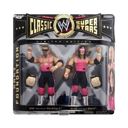 WWE Wrestling クラシック Superstars Exclusive Series 1 アクション Figure 2-パ[海外取寄せ品]