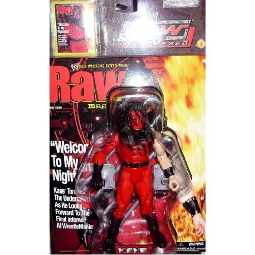 KANE - WWE Wrestling Raw Uncove赤 Figure by Jakks[海外取寄せ品]