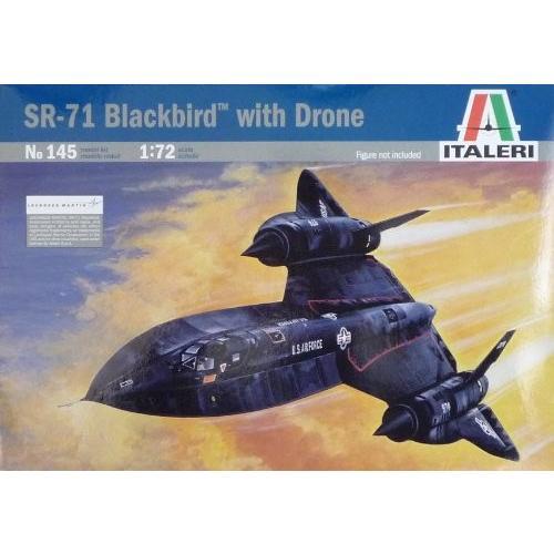 Italeri 145 1/72 SR-71 黒bird[海外取寄せ品]